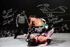 BRETT HIT MAN HART SHAWN MICHAELS REPRINT 8X10 AUTOGRAPHED SIGNED PHOTO PICTURE