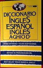 Diccionario Ingles Espanol Ingles A GHIO D - 1994