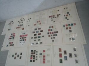 Nystamps E Old US stamp collection Album page SCV $1800