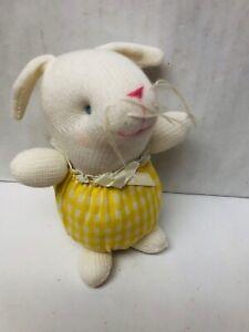 Russ Berrie Bunny Rabbit Plush Stuffed Animal Small 5 Inch Easter Bunny Toys