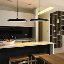 Black Pendant Light Bar Led Lamp Kitchen Chandelier Lighting Home Ceiling Light