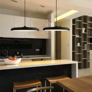 Bar Lamp Black Pendant Light Kitchen Chandelier Lighting Home LED Ceiling Light
