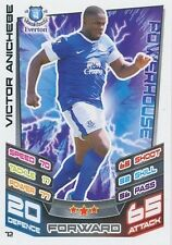 N°072 VICTOR ANICHEBE # NIGERIA EVERTON.FC TRADING CARD MATCH ATTAX TOPPS 2013