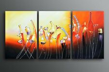 Huge Framed Original Oil Painting modern abstract Canvas Ready To Be Hung