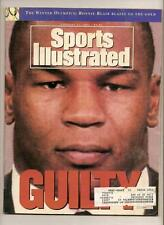 1992 Sports Illustrated Magazine February 17th Mike Tyson Guilty