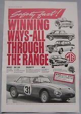 1963 MG Original advert No.1