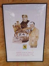 Ferrari Chinetti Club of America N.A.R.T. Poster Watkins Glen 1996