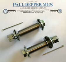 Mg MGB inferiore FULCRUM / Trunion KIT BULLONE (Inc SPLIT PIN) x 2 bhh1773k