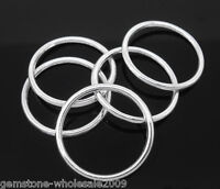 50PCS Wholesale Lots SP Soldered Closed Jump Ring 24mm Dia.Findings GW