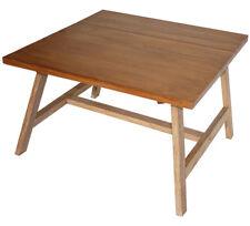 KMH® Couchtisch 80 x 80 cm Wohnzimmertisch Coffeetable Beistelltisch Tisch Holz