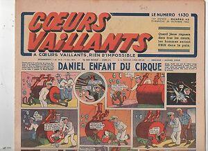 COEURS VAILLANTS 1942 n°43. Hergé. Tintin Le crabe aux Pinces d'Or.