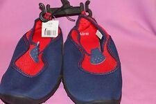 Kids water swim shoes, beach, lake or pool, Kids size L 2/3  ( blue & red  )