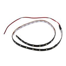 HU etanche 60 cm 30 SMD bande de voiture de moins de Neon Light Footwell Flexibl