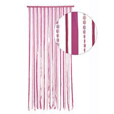 HAB & GUT Türvorhang STOFF / PAILLETTEN, PINK, Kunststoff, 90 x 180 cm