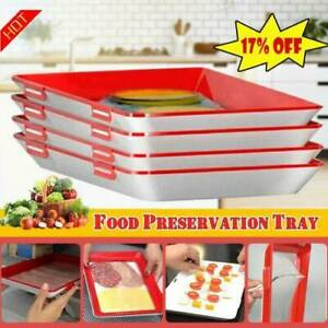 Creative Food Preservation Tray Healthy Kitchen Tools Storage Container Set UK