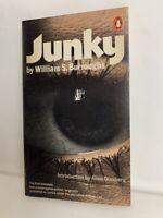 JUNKY William Burroughs underground classic drug heroin novel Penguin paperback