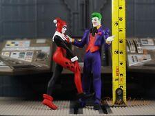 DC Comics Batman Villain Joker Harley Quinn Cake Topper Figure Decor K1361 EG