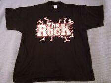 WWF 1999 THE ROCK MOST ELECTRIFYING MAN VINTAGE OFFICIAL XL T-SHIRT - WWE DWAYNE