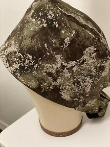 Men/Women Surgical Scrub Cap, Digital Camo, Brown, Green. Lined 100% Cotton