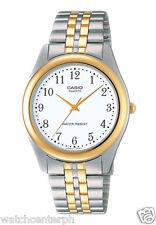 Casio LTP-1129G-7B Women's Quartz Two-Tone Stainless Steel Analog Dress Watch
