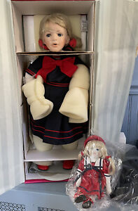 """MARIE OSMOND BRYNN DOLL 26"""" in original box with COA Never removed from box"""