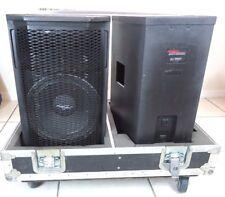 Pair APOGEE Sound International Loundspeaker Speakers AE-5 W/Case