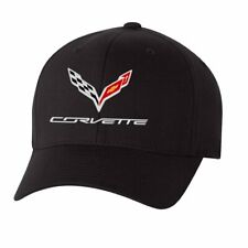 White for Under Armour C7 Corvette Stingray Fitted Hat//Cap Large//X-Large Graphite