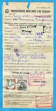 RECLAMO AFFRANCATO - 1988 CASTELLI £.1000 + 500 ann.TORRE BODONE   (232020)