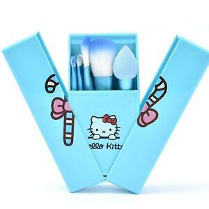 Hello Kitty Gift Makeup Brushes Best Foundation Powder Eyeshadow Organizer Set