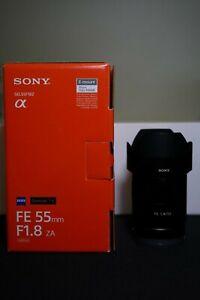 SONY FE 55mm f/1.8 ZA Carl Zeiss Sonnar T* Lens SEL55F18Z