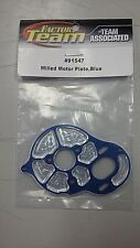 ASC 91547  Blue Aluminum Milled Motor Plate for the B5/B5M by Team Associated