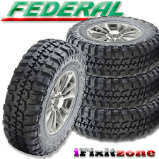 4 Federal Couragia M/T 37X12.50R17 Mud Tires LT 37X12.50X17 10 Ply 129Q NEW