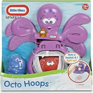Little Tikes Sparkle Bay Octo Hoops Water Toy 18m+ with lights