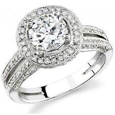 4.08 Ct.Round Brilliant Cut Diamond Engagement Ring GIA