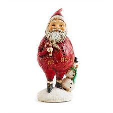 6 Inch Santa holding Snowman by KK Interiors, Inc #51833A