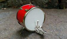 Miniature Bass Drum Red