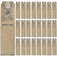 Green Label HEPA Bags for Oreck Magnesium Upright Vacuum Cleaners – 25 pack