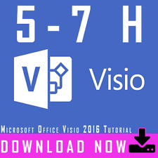 Video Tutorial Microsoft Office Visio 2016
