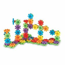 Learning Resources Gears Building Pieces Educational Connectors Cranks ToyNew
