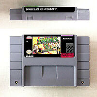 Zombies Ate My Neighbors 16 bit Game Cartridge Console US Version Nintendo SNES