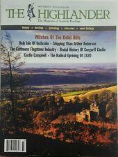 The Highlander May June 2017 Scottish Heritage History Events FREE SHIPPING sb