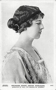 POSTCARD ROYALTY -  BELGIUM - PRINCESS MARIE LOUISE D'ORLEANS