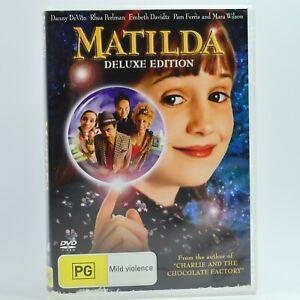 Matilda DVD R4 Movie Film Good Condition Free Tracked Post AU