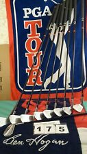 RH Ben Hogan Apex Plus Iron Set  4 5 5 6 7 8 9 E F Forged Apex 3 graph 8+ clubs