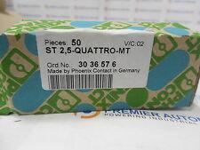 PHOENIX CONTACT,ST 2,5-QUATRO-MT,TERMINAL BLOCKS,3036576