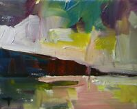 JOSE TRUJILLO LANDSCAPE OIL PAINTING NEW MODERN SKY - Highly Collected Artist