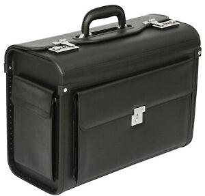 Tassia Pilot Case Briefcase Business Laptop Travel Flight Briefcase Bag Hand Lug