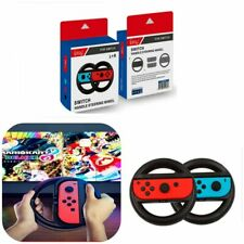 2-Pack Nintendo Switch-Joy-Con Racing Steering Wheel Grips **UK FAST POST**