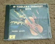 16 Fiddler's Greatest Hits Various Artists CD Country Bluegrass