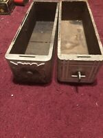 2 Vintage Singer Sewing Drawers Fair Condition